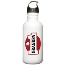 #1 Grandpa Water Bottle
