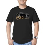 Rick & Kathy Edition Men's Fitted T-Shirt (dark)