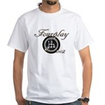 Shift Fourplay 240Z White T-Shirt