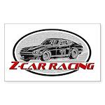 Datsun Racing Sticker (Rectangle)