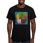 PickAss'O Men's Fitted T-Shirt (dark)