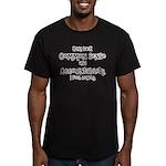 Common Sense? Men's Fitted T-Shirt (dark)