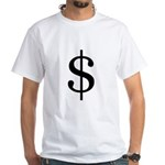 $money$ White T-Shirt