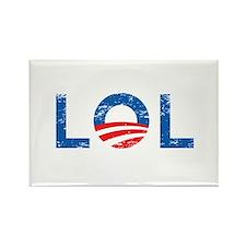 LOL Anti-Obama Rectangle Magnet