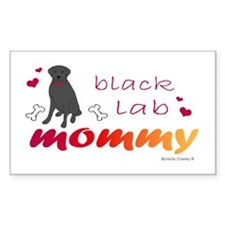 black lab Decal