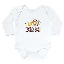 I Love Disco Long Sleeve Infant Bodysuit