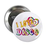 "I Love Disco 2.25"" Button (100 pack)"