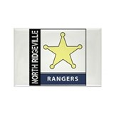 North Ridgeville Rectangle Magnet