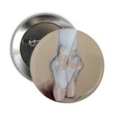 "Ballet Pointe Shoes 2.25"" Button (100 pack)"