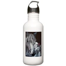 Pierrot and Horse Water Bottle