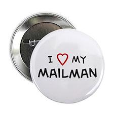 I Love Mailman Button