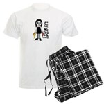 Broken Goth Doll Men's Light Pajamas