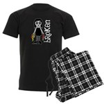 Broken Goth Doll Men's Dark Pajamas