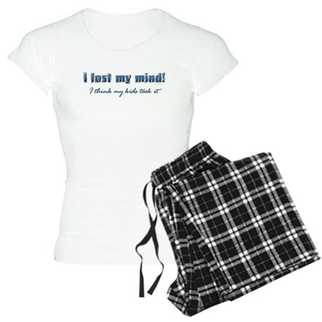 I Lost My Mind ... Women's Light Pajamas