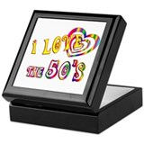 I Love the 50s Keepsake Box