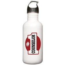 #1 Counselor Water Bottle