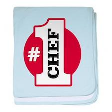 #1 Chef baby blanket