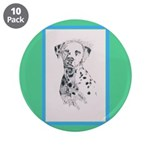 "Dalmatian 3.5"" Button (10 pack)"