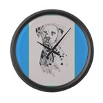 Dalmatian Large Wall Clock