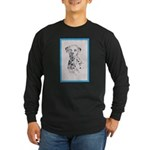 Dalmatian Long Sleeve Dark T-Shirt