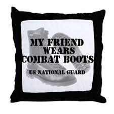 My Friend Wears NG CB Throw Pillow