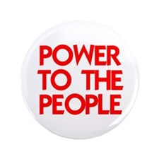 "POWER TO THE PEOPLE 3.5"" Button (100 pack)"