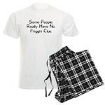 No Friggin Clue Men's Light Pajamas