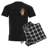 High Fived Face Men's Dark Pajamas