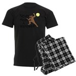 Moon A Werewolf Men's Dark Pajamas