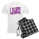 Flirty Flasher Men's Light Pajamas