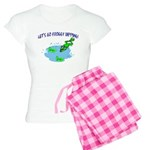 Froggy Dipping Women's Light Pajamas