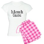 Rather Be Cheating Women's Light Pajamas