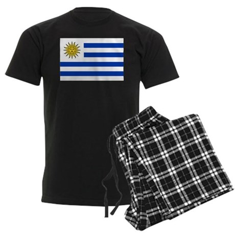 Uruguay Men's Dark Pajamas