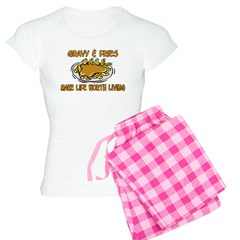 Gravy And Fries Women's Light Pajamas