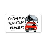 Champion Furniture Racer Aluminum License Plate
