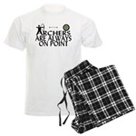 Archers On Point Men's Light Pajamas