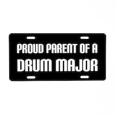 Proud Parent Drum Major License Plate