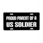 Proud Parent US Soldier License Plate