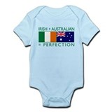 Irish Australian flags Onesie