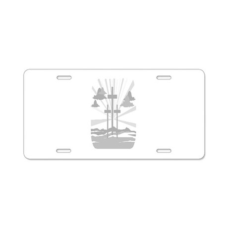 Calvary Aluminum License Plate
