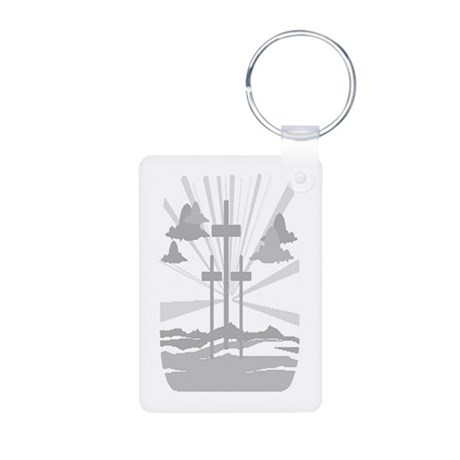 Calvary Aluminum Photo Keychain