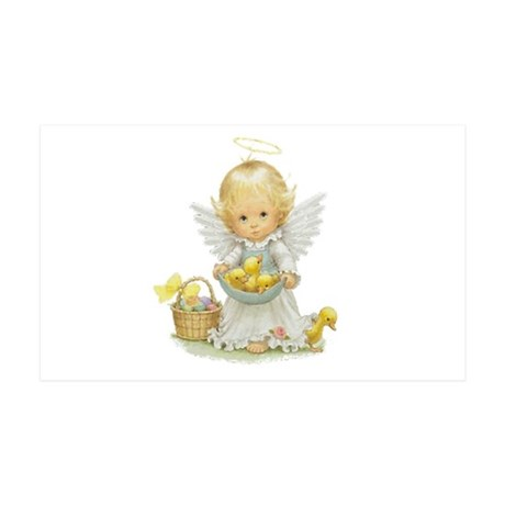 Easter Angel 38.5 x 24.5 Wall Peel