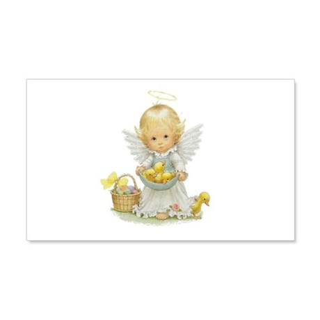 Easter Angel 22x14 Wall Peel
