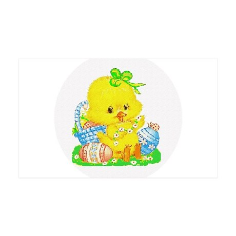 Easter Duckling 38.5 x 24.5 Wall Peel
