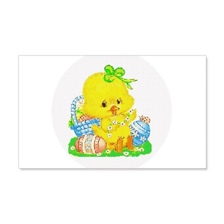 Easter Duckling 22x14 Wall Peel