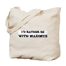 With Maximus Tote Bag