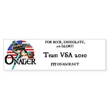 Team USA Bumper Sticker