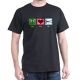 Peace Love Cut T-Shirt