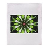 Go green Throw Blanket