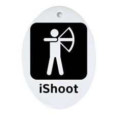 iShoot Ornament (Oval)